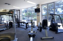 Get a workout in before breakfast, in our fitness centre.