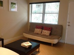 Single studio full size futon