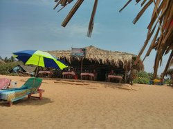 Oceanic Blue Beach Shack