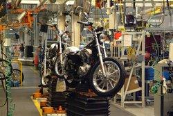 Harley Davidson Factory Tour
