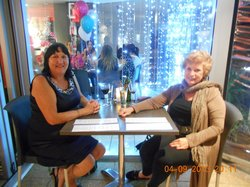 Sharon and Beverley enjoyed dinner at our favourite restaurant