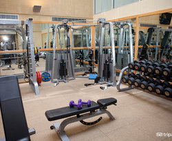 Fitness Center at The Palmer House Hilton Hotel