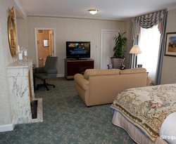 The King Room at The Palmer House Hilton Hotel