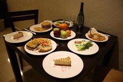 room service food !