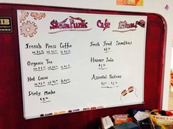 Steampunk Café