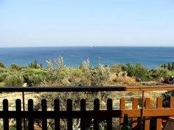 View from ZagaMilos Hotel - Koroni Messinia