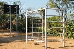 Swing near the beach