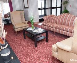 Lobby at the Best Western Providence-Seekonk Inn