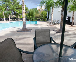 The Lounge Chairs at the Omni Houston Hotel at Westside