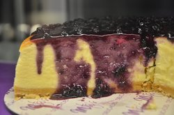 Yummy Blueberry Cheese cake...
