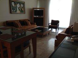 Grand Mayan Suite - Living Room