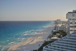 Beach Palace (sister hotel Cancun, roof top)