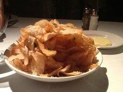 Humm, trop bon : Truffles chips parmesan