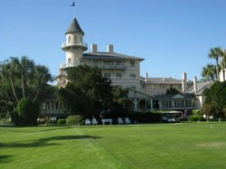 Turret on main clubhouse