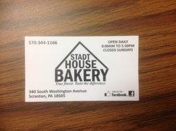 Stadt House Bakery