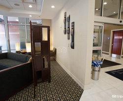 Lobby at the Hilton Garden Inn Denver Downtown
