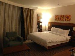 Room with panoramic windows