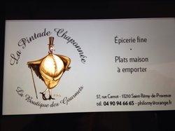 La Pintade Chaponnee