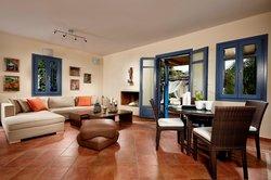 living room Villa Blue