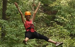 Adventureworks Zipline Forest at Fontanel