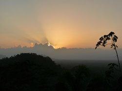 Sunset from Ridge Suites deck