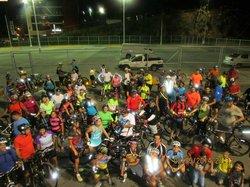 Movimiento Ciclistas En Las Calles De Panama