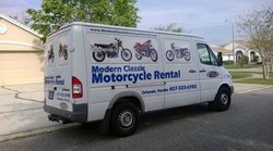 Modern Classic Motorcycle Rental