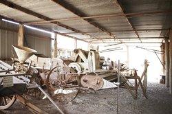Farming Implements at Eldorado Museum