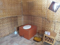 Eco Toilet.