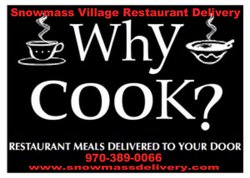 Snowmass Village Restaurant Delivery