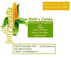 Cerealia Pane Dolci E Cucina