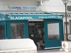 Blackpool Fish & Chip bar