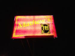 Mathew's Supper Club