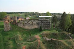 Ruins of the Vastseliina Episcopal Castle