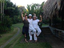 Kundalini Yoga at the Ajoupa