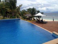 Infinity saltwater Pool