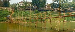 Nam Khan River Bridge (Bamboo)