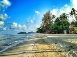 Пляж супер, жаль море мелкое