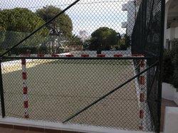 Tennis/football court