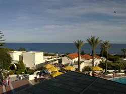Another view of sea from hotel