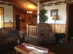 Inside our Cabin ~ Perfect!
