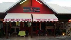 Restaurant-pizzeria Ti Francine