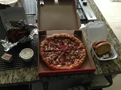 Double Double Pizza & Chicken