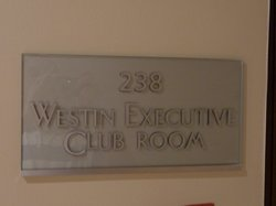 """Second floor room, marked as """"Executive Club Room"""""""