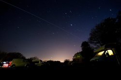 International Space station passing over Pooh cottage camp site.