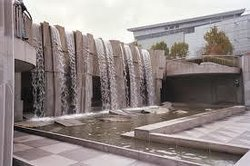 Martin Luther King, Jr. Memorial and Waterfall