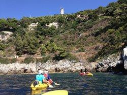 Kayak Saint Jean Cap Ferrat
