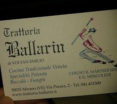Trattoria Ballarin
