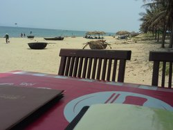 view from a nearby Beach Cafe
