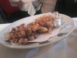 misto calamaretti e gamberettini fritti (antipasto caldo)